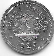*notgeld  Bremen  50 Pfennig  1920 Zn    2008.1/F58.2 - [ 2] 1871-1918 : Imperio Alemán