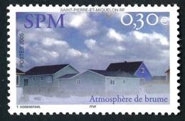 ST-PIERRE ET MIQUELON 2005 - Yv. 852 **   Faciale= 0,30 EUR - Maisons Dans La Brume  ..Réf.SPM11555 - Neufs