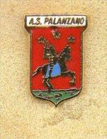 A.S. Palanzano Calcio Distintivi FootBall Soccer Pins Spilla Italy Parma - Calcio