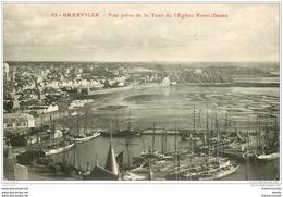 50 GRANVILLE. Le Port Vu De La Tour - Granville