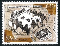 ST-PIERRE ET MIQUELON 2005 - Yv. 858 **   Faciale= 0,53 EUR - Statut De Collectivité Territoriale  ..Réf.SPM11560 - Neufs