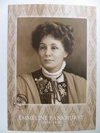 Emmeline Pankhurst British Political Activist And Organizer Of The British Suffragette - Mujeres Famosas
