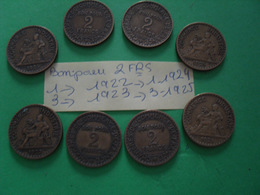 Pièces De 2 Frs + Pièces (bon Pour 2 Frs) - Münzen & Banknoten