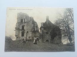 CPA 29 PONT AVEN - Ruines De Manoir De Rustéphan (f) - Pont Aven