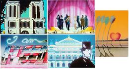 Lot 5 Cartes Postales Modernes—CPM—Editions F. Nugeron—Années 1980—Illustrateurs Divers - Cartoline