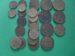 27 Pièces  Divers - Monedas & Billetes