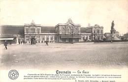 Louvain - La Gare (animée, Belgique Historique) - Leuven
