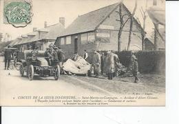 SAINT MARTIN EN CAMPAGNE  Accident D'albert Clement - France