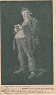 1901 US Comic Jefferson PS Card Advertising Antikamnia Added 1c Franklin To UK - Werbepostkarten