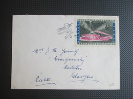 1052 - Expo 58 -  Op Brief Naar Glagow Schotland - België
