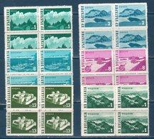 Bulgaria 1962  Vedute Yvert 1147/1151A ** MNH /VF - Bulgaria