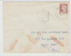 DROME: BOUVIERES : Agence Postale Type F7 / LSC De 1961 B - Marcophilie (Lettres)