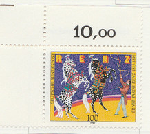 PIA -GER-  1992  : Centenario Della Morte Del Direttore Di Un Circo Ernst Jakob Renz   -  (Yv 1427) - Circo