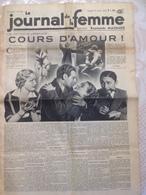 RARE !!!  LE JOURNAL DE LA FEMME N° 323 Du Vendredi 13 Janvier 1939 ( Cours D' Amour ) - Journaux - Quotidiens