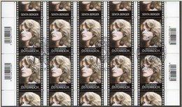 AUSTRIA 2013 Austrians In Hollywood V Sheetlet, Cancelled.  Michel 3057 Kb - Blocks & Kleinbögen