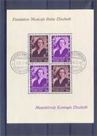Nr. BL7-V2 Gestempeld Muziekfonds Met Cedile 50 Côte - Abarten (Katalog COB)