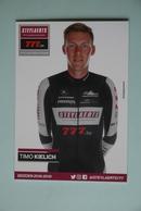 CYCLISME: CYCLISTE : TOM KIELICH - Cyclisme