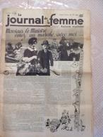 RARE !!!  LE JOURNAL DE LA FEMME N° 326 Du Vendredi 3 Février 1939 ( Monsieur Le Ministre Venez Au Marché Avec Moi ) - Journaux - Quotidiens