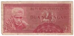 Indonesia 2,5 Rupiah 1956 P-75 /007B/ - Indonesien