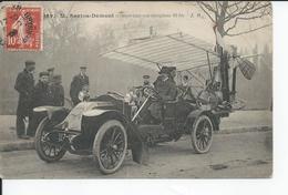 M SANTOS  DUMONT   Transportant Son Aeroplane 19 Bis  1909 - ....-1914: Precursori