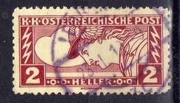 Österreich 1917 Mi 220 A, Zähnung 12 1/2, Gestempelt [280316XIV] - Usados