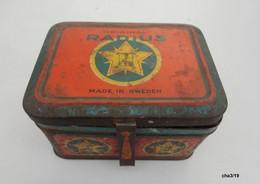 Ancien Réchaud Original RADIUS N°21   Made In Sweden Et Sa Boite De Rangement - Dans Son Jus - Tools