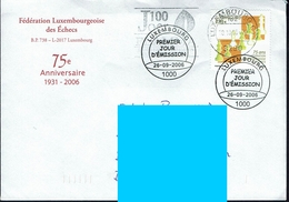 Luxemburg - Luxembourg 2006 - MiNr 1715 - Schach Chess Ajedrez échecs - Schach