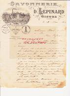 Gisors. Savonnerie D. Lepinard - France