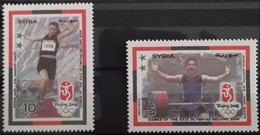 Syria 2008 MNH Complete Set 2v. - Beijing Olympic Games - China - Sports - Syria