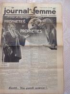 RARE !!!  LE JOURNAL DE LA FEMME N° 330 Du Vendredi 3 Mars 1939 ( Prophètes Et Prophéties ) - Journaux - Quotidiens