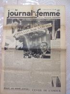 RARE !!!  LE JOURNAL DE LA FEMME N° 331 Du Vendredi 10 Mars 1939 ( Jean SABLON ) - Journaux - Quotidiens