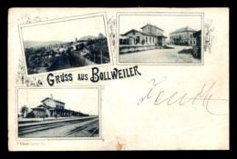 68 - BOLLWEILER - GRUSS AUS - 3 VUES - VOIR ETAT - Francia