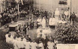 83 LA SEYNE SUR MER INSTITUTION SAINTE MARIE CONSECRATION DE LA VIERGE 1ERE COMMUNION BELLE ANIMATION CLICHE UNIQUE - La Seyne-sur-Mer
