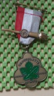 Medaille :Netherlands  - Capitulatie Wandel Tocht 5 Mei , Wageningen  / Vintage Medal - Walking Association - Nederland