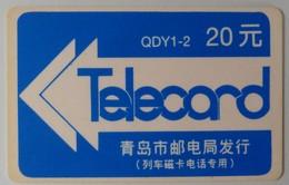 CHINA - Magnetic - Teccom - Shandong - QDY 1-2 - Qingdao Railway - 1995 - VF Used - Chine