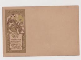 Onoranze A Volta 100° Pila, Como 1899, Expo Elettricità E Indus. Serica, Illust.Hohenstein - F.p. - Anno 1899 - Esposizioni