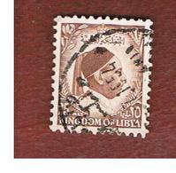 LIBIA  (LIBYA) -   SG 183 -  1952 KING IDRIS  25       -  USED° - Libia