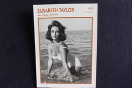 Sp-Actrice/ 1959 - Liz Taylor, Est Une Actrice Britannico-américaine, Né En 1932 à Londres, Morte En 2011 à Los Angeles. - Acteurs