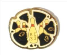Pin's BC 33 - Bowling Club - Quilles De Bowling - I492 - Bowling