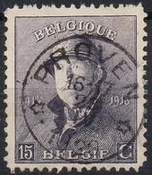 Roi Casqué - N° 169 Oblitération Dépôt-relais PROVEN - 1919-1920 Roi Casqué