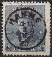Roi Casqué - N° 169 Oblitération HAMME - 1919-1920 Trench Helmet