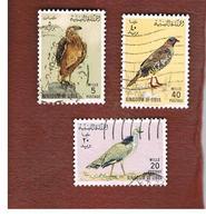 LIBIA  (LIBYA) -   SG 335   -  1965  BIRDS   -  USED° - Libia