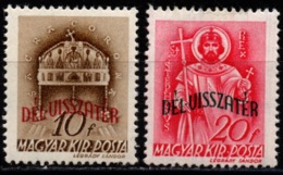 Hungary 1941 - Return Of Southern Territories - Mi 655-656 - MLH/MNH - Hongrie