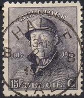 Roi Casqué - N° 169 Oblitération HALLE B - 1919-1920 Roi Casqué