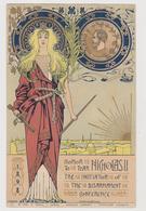 Onore Allo Zar Nicola II, Iniziatore Conferenza Per Il Disarmo, 1898, Illustrata Da I. C. Rossi  - F.p. - Anno 1899 - Manifestazioni