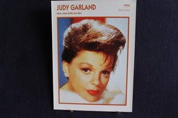 Sp-Actrice/américaine-1954,Judy Garland, Née En 1922 à Grand Rapids (Minnesota) Et Morte En 1969 à Londres (Royaume-Uni) - Acteurs