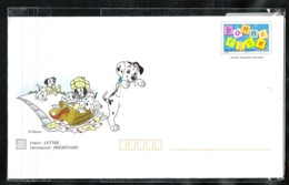 FRANCE Pret à Poster Bonne Fête Avec Disney Les 101 Dalmatiens - Listos A Ser Enviados: Otros (1995-...)