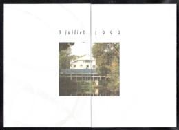 PHILEX FRANCE 1999 3 Invitations Avec Timbres ** Et Menus - Otros