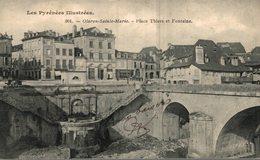 64 OLORON-SAINTE-MARIE  PLACE THIERS ET FONTAINE - Oloron Sainte Marie