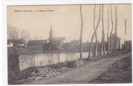 Côte-d'Or - Braux - La Mairie Et L'Eglise - Altri Comuni